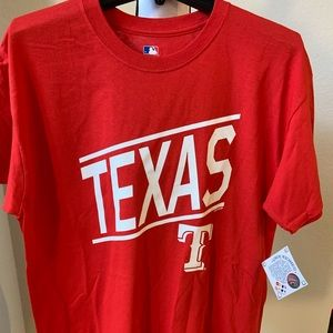 Texas Rangers MLB baseball T-SHIRT men red